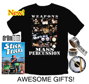 Gifts for Drummers
